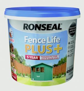 Ronseal Fence Life Plus 5L - Teal.